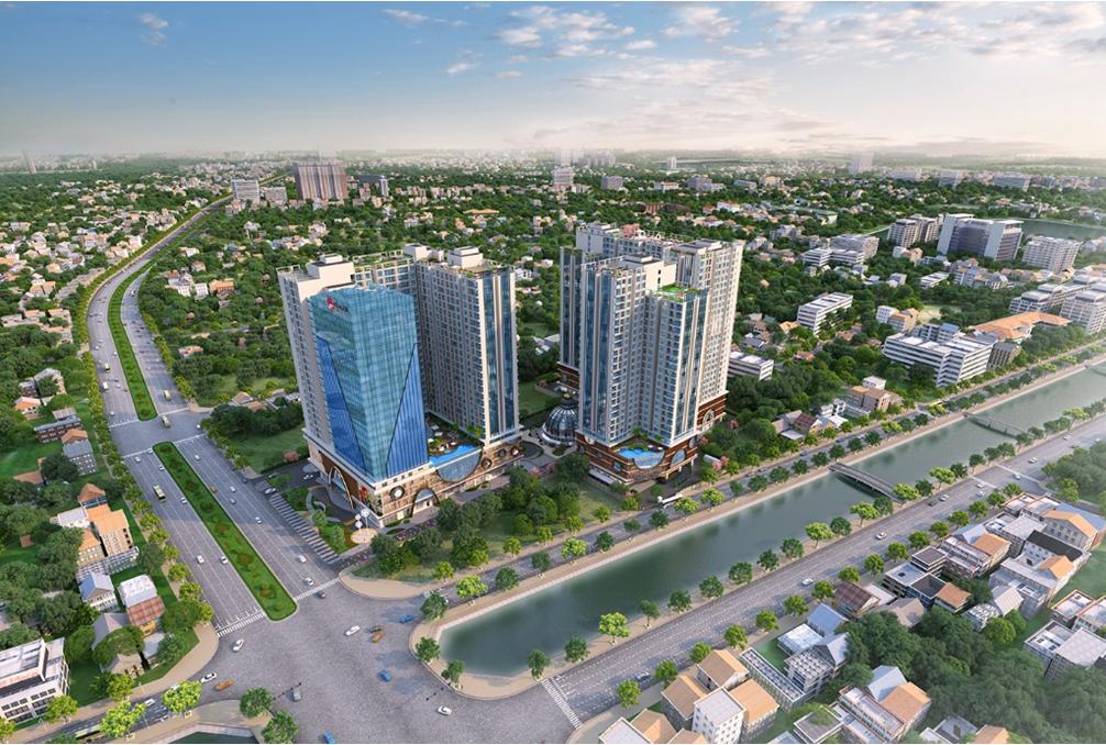 Dự án Chung cư 201 Minh Khai Hinode City