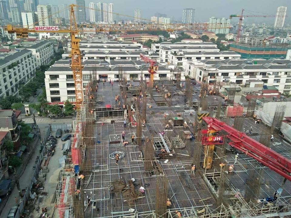 Cập nhật Tiến độ thi công Chung cư PCC1 Thanh Xuân 44 Triều Khúc tháng 4 năm 2019