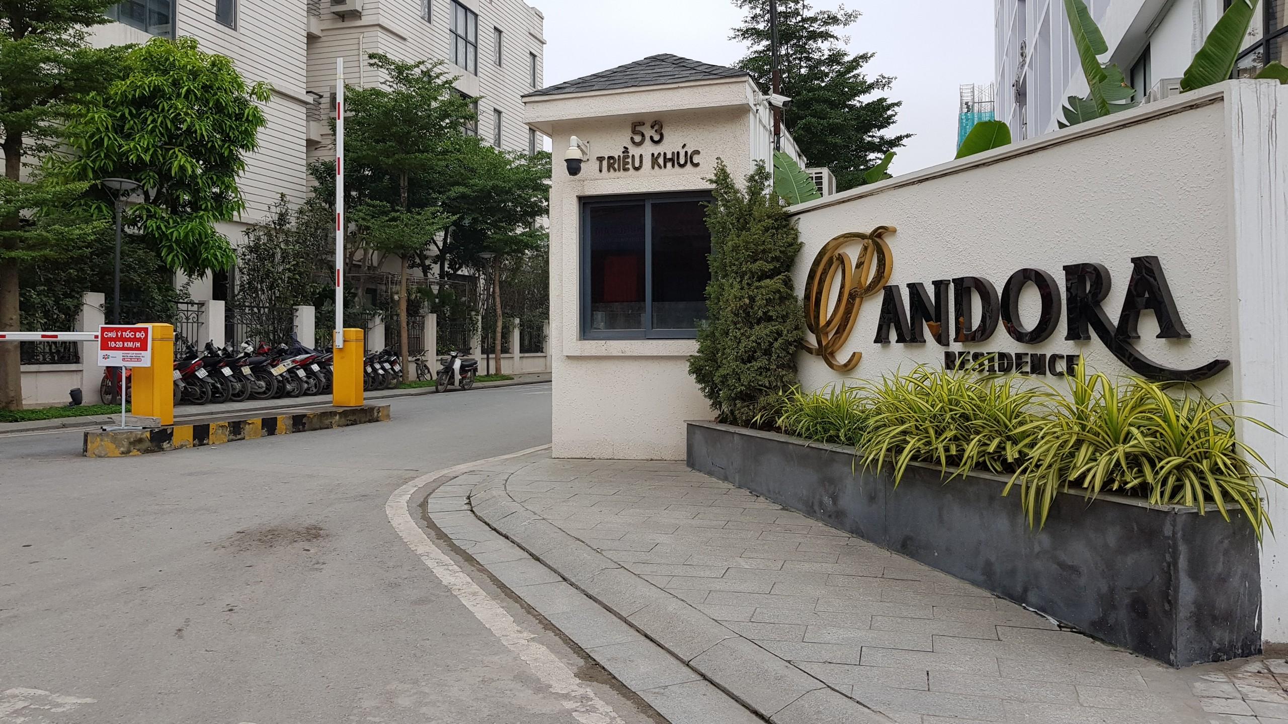 Chung cư PCC1 Thanh Xuân đối diện pandora