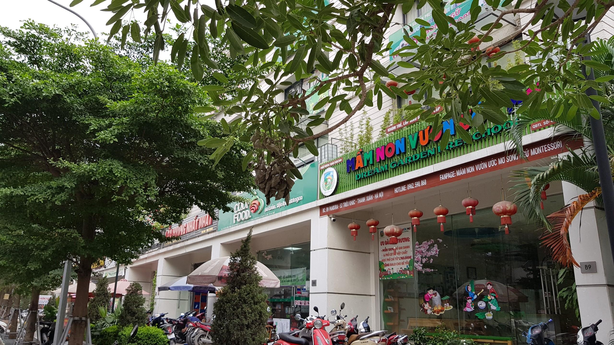 Chung cư PCC1 Thanh Xuân sầm uất shophouse