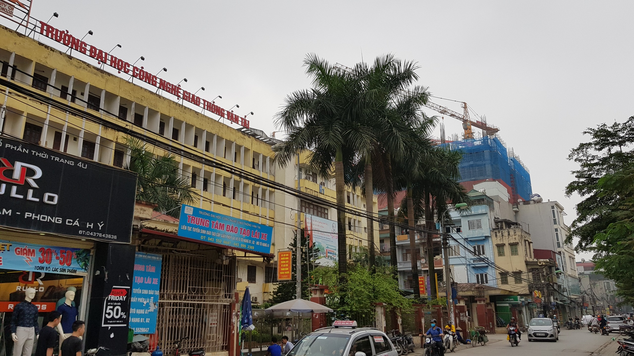 Chung cư PCC1 Thanh Xuân trường đại học gtvt