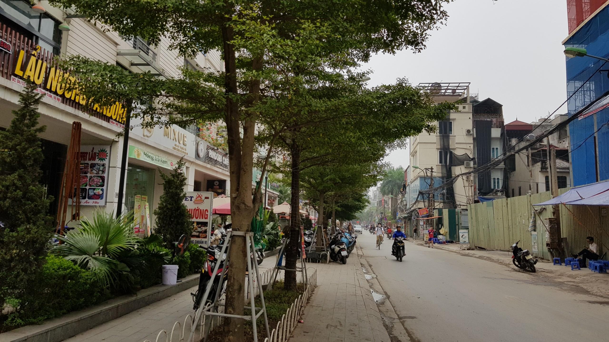 Công trường Dự án PCC1 Thanh Xuân 44 Triều Khúc phố triều khúc