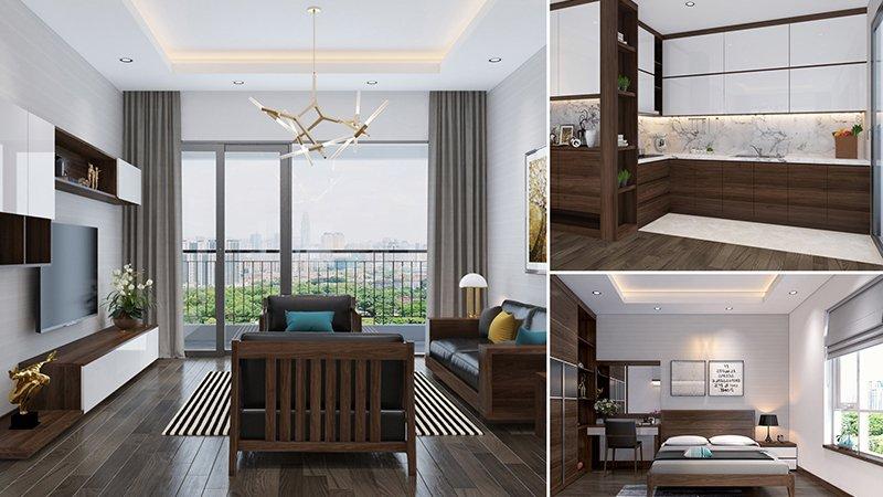 nội thất chung cư bảo sơn complex