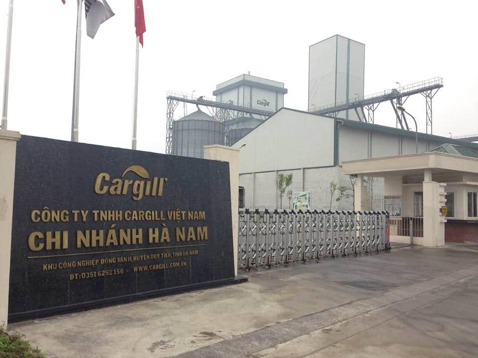 tnr đồng văn nhà máy cargill