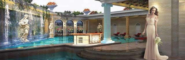 bể bơi trong nhà tân hoàng minh group Chung cư D' El Dorado Tân Hoàng Minh