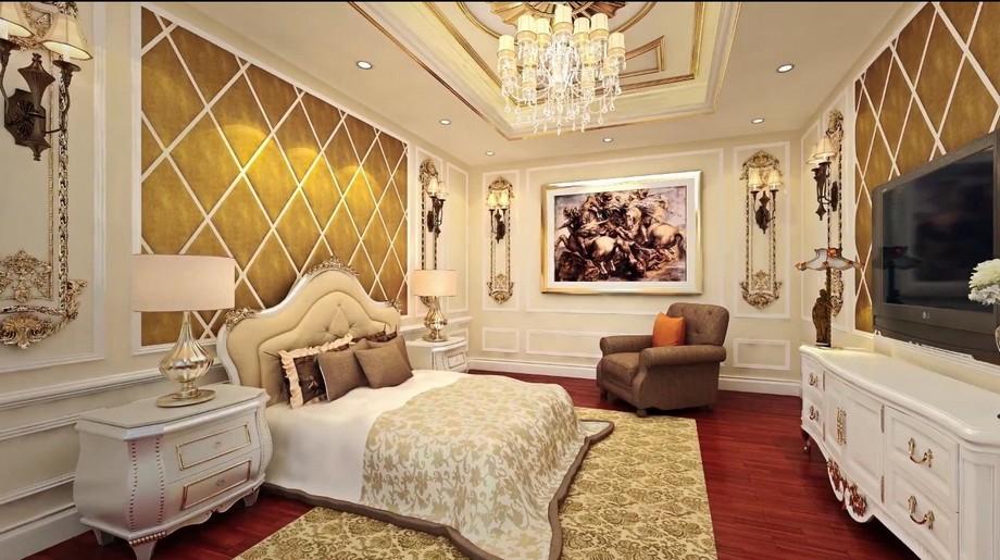 phòng ngủ dự án Chung cư D' El Dorado Tân Hoàng Minh