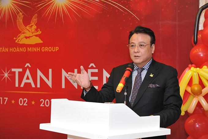 chủ tích tân hoàng minh group dự án Chung cư D' El Dorado Tân Hoàng Minh