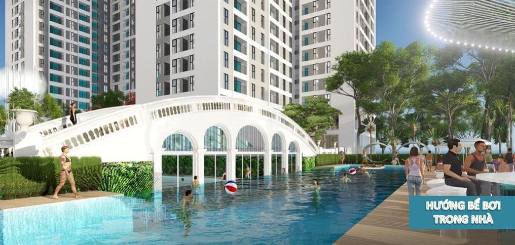 khu phức hợp bể bơi dự án Hồng Hà Eco City