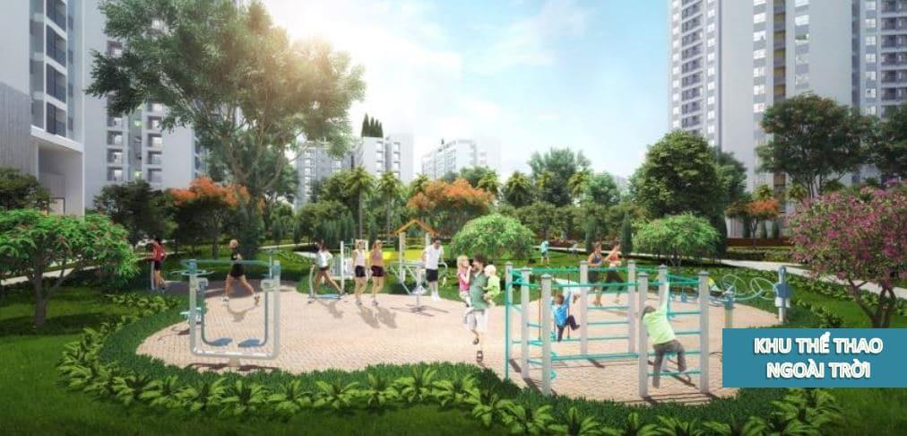 khu Thể thao ngoài trời dự án Hồng Hà Eco City