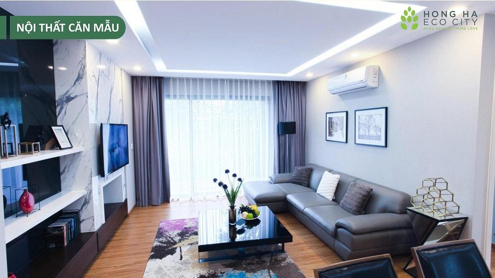 chung cư hồng hà eco city hình ảnh căn hộ mẫu 7