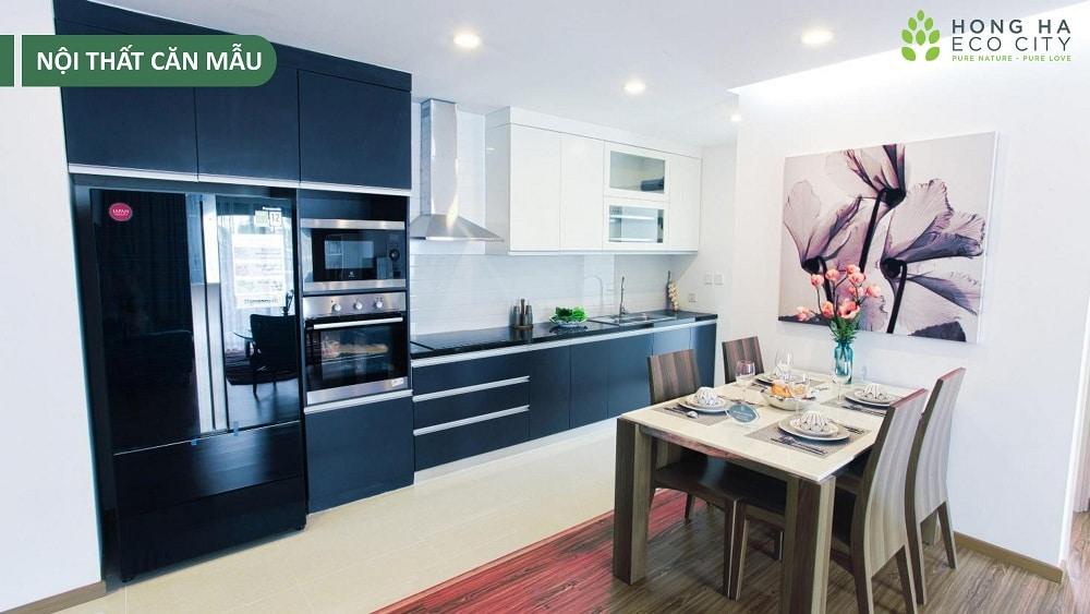 chung cư hồng hà eco city hình ảnh căn hộ mẫu 4