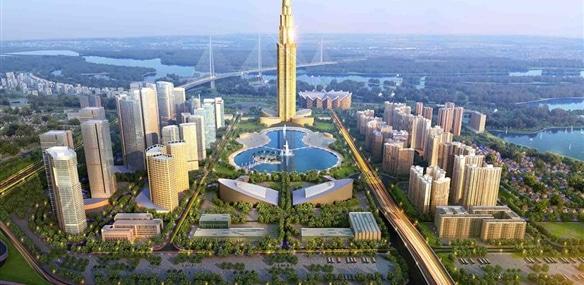 tháp tài chính phương trạch tower phối cảnh