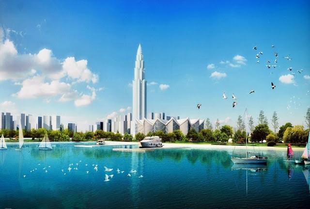 tháp tài chính phương trạch tower view hồ trung tâm