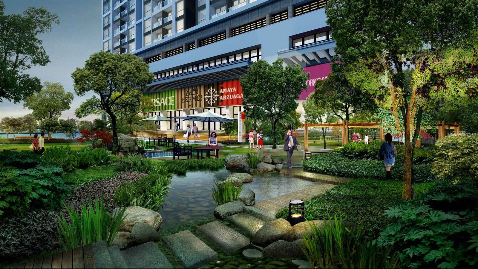 chung cư annecy garden trung tâm thương mại