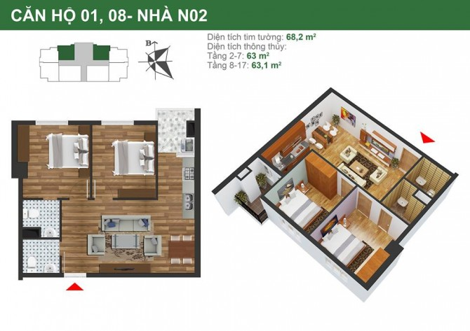 chung cư k35 tân mai n020108