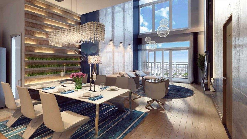 chung cư panorama hoàng văn thụ nội thất