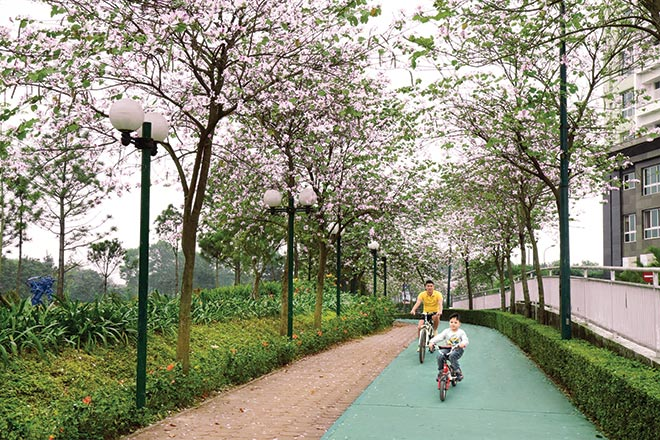 biệt thự grand gardenville eco path