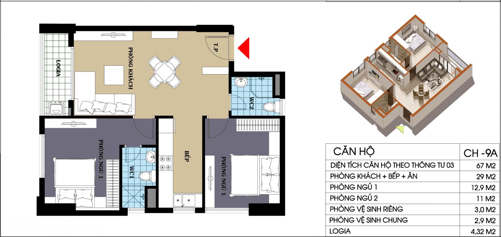 chung cư 987 tam trinh căn hộ ch9a