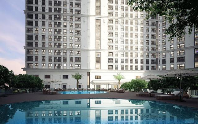 Tiện ích bể bơi khu đô thị
