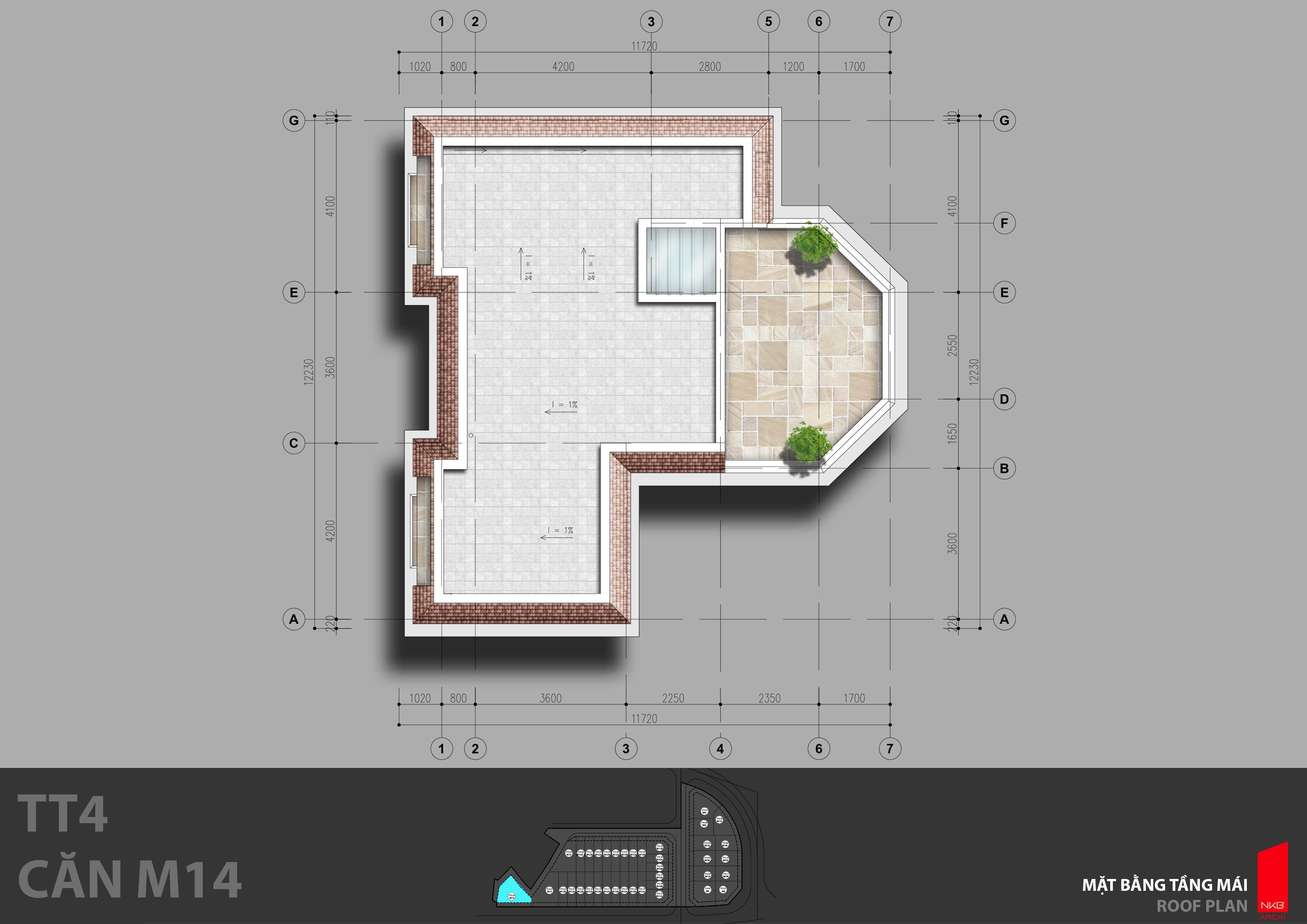 thiết kế biệt thự đơn lập athena fulland tt4