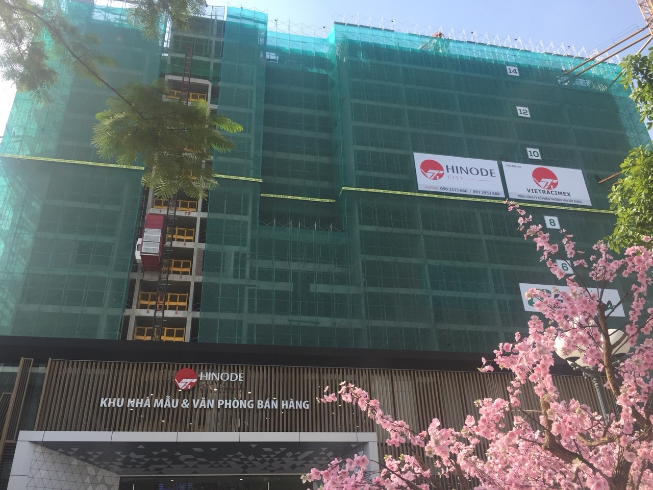 Cập nhật tiến độ thi công Dự án Chung cư Hinode City