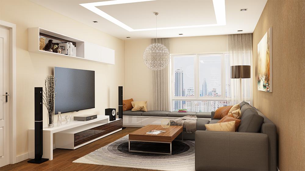 chung cư hc golden city nội thất cao cấp