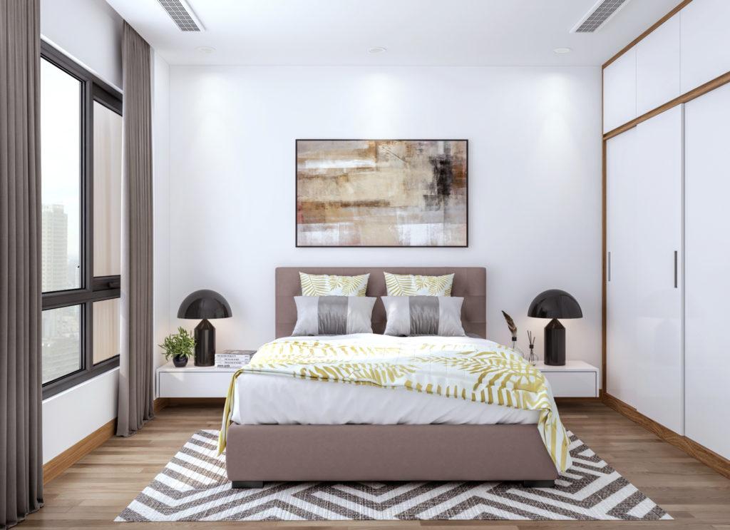 Thiết kế nội thất đậm chất Hàn Quốc phòng ngủ 1