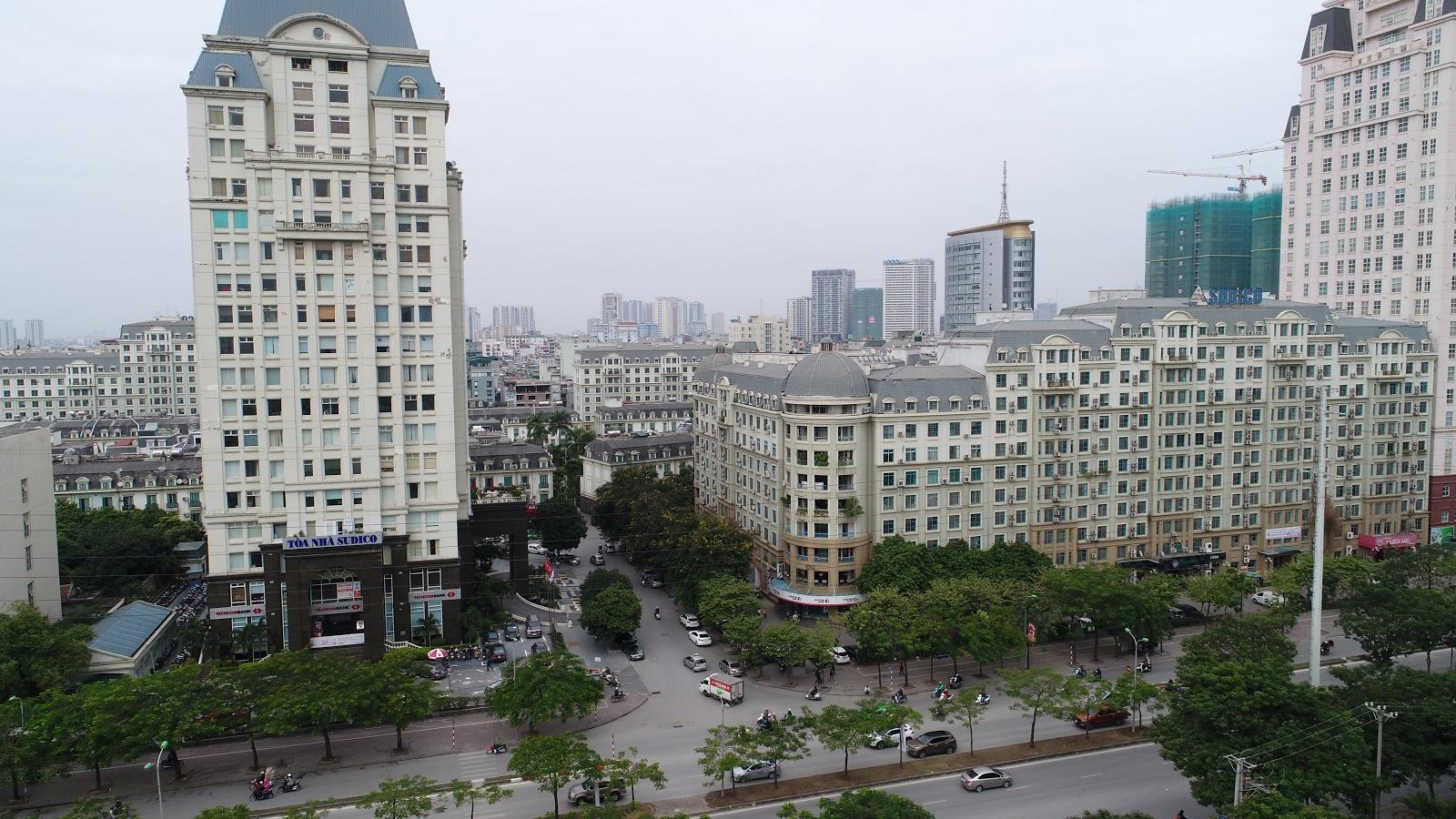 View Tây Bắc là khu đô thị sông đà mễ trì