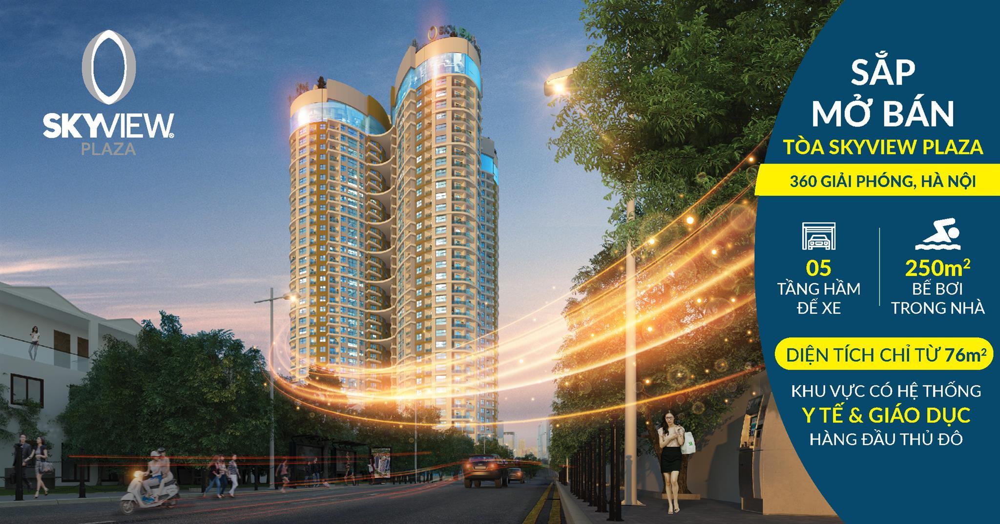 Chung cư Skyview Plaza 360 Giải Phóng 1