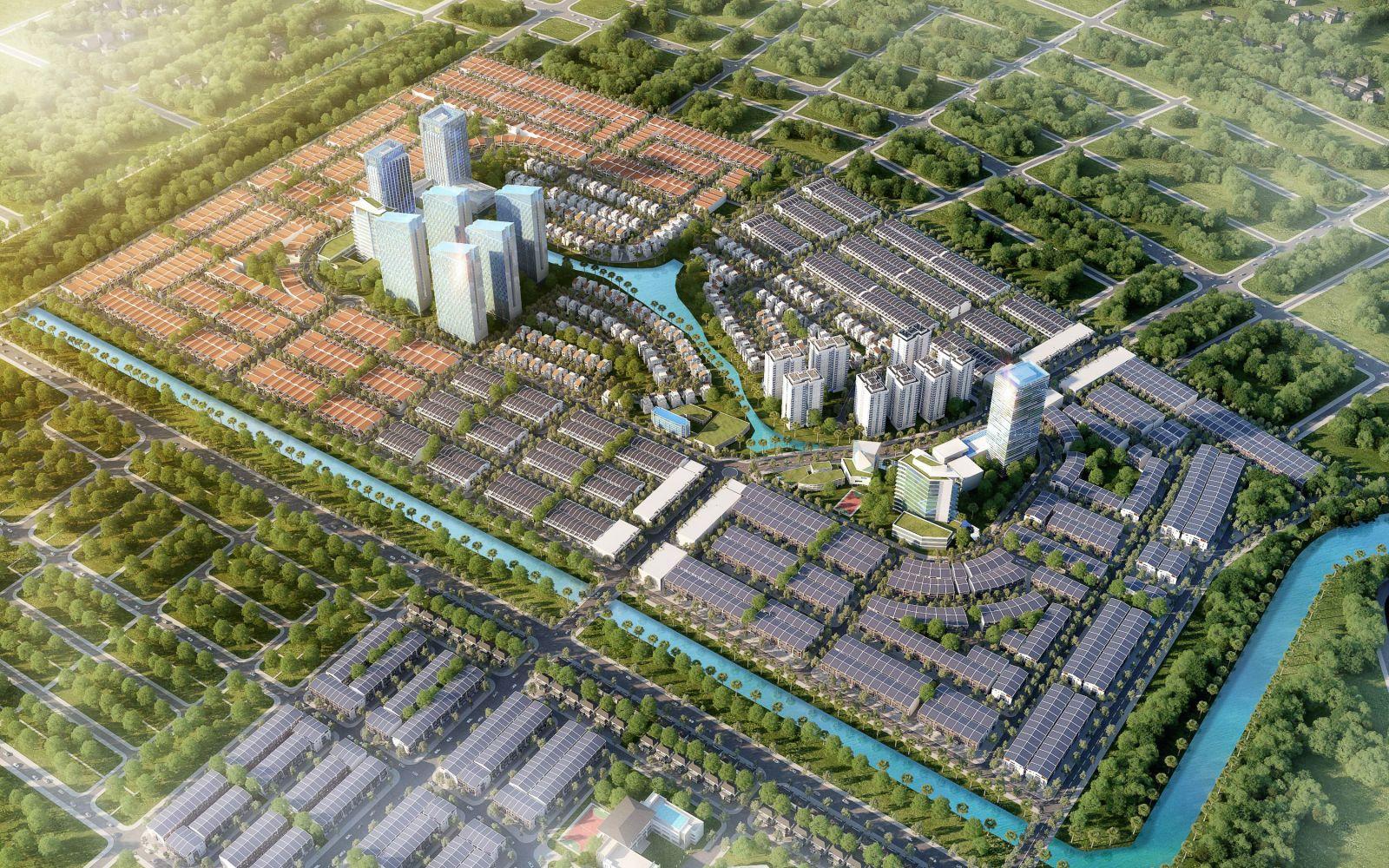 đất nền dragon smart city tổng thể dự án