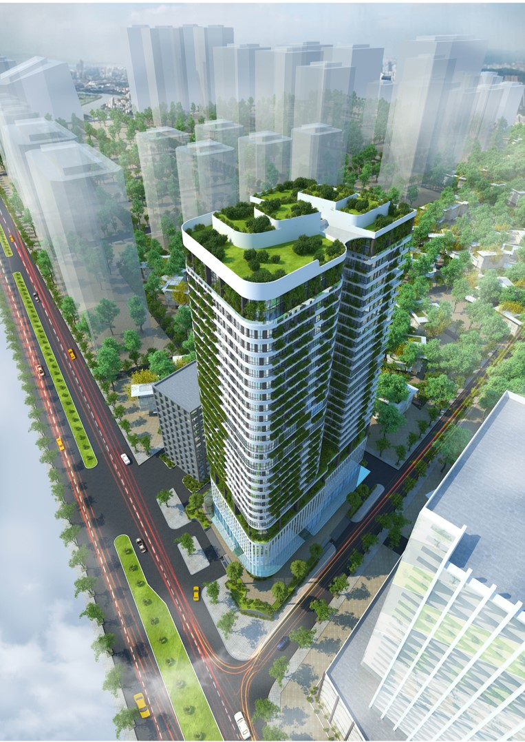 chung cư manhattan tower phối cảnh dự án