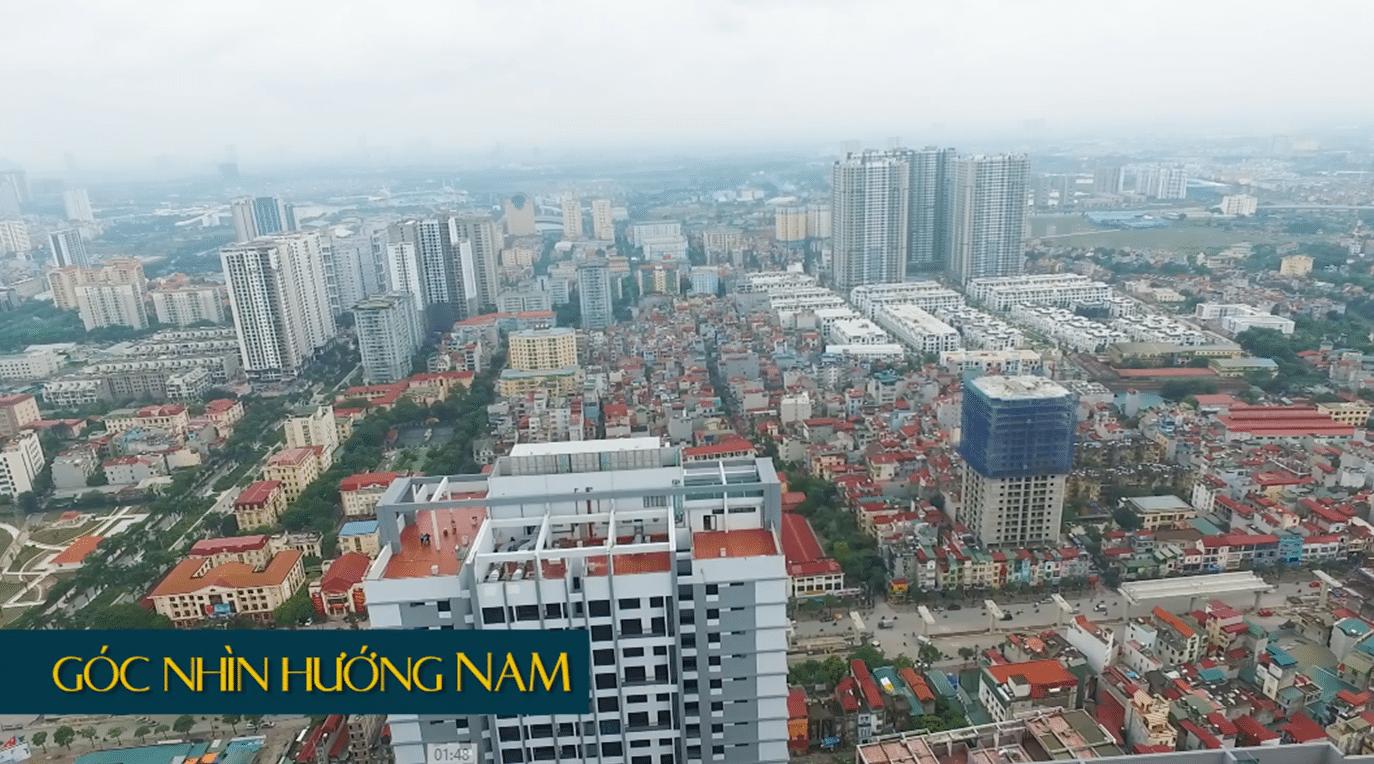Tầm nhìn thực tế Dự án Goldmark City - hướng Nam