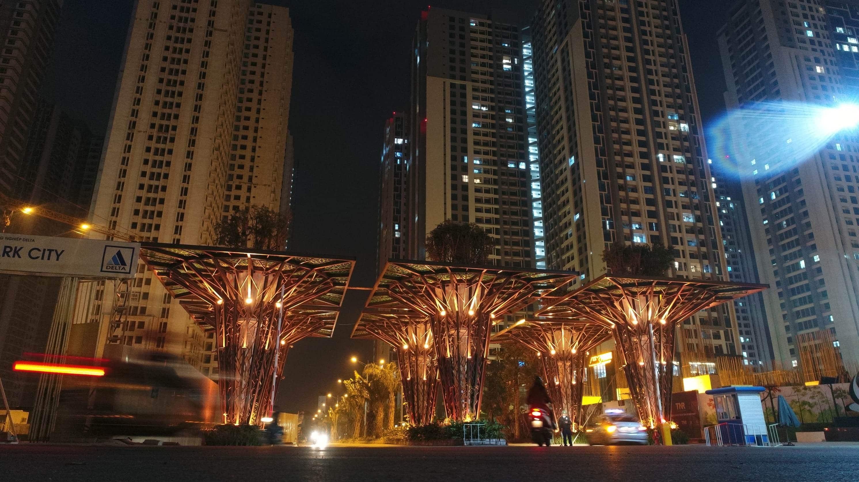 dự án TNR Goldmark City về đêm