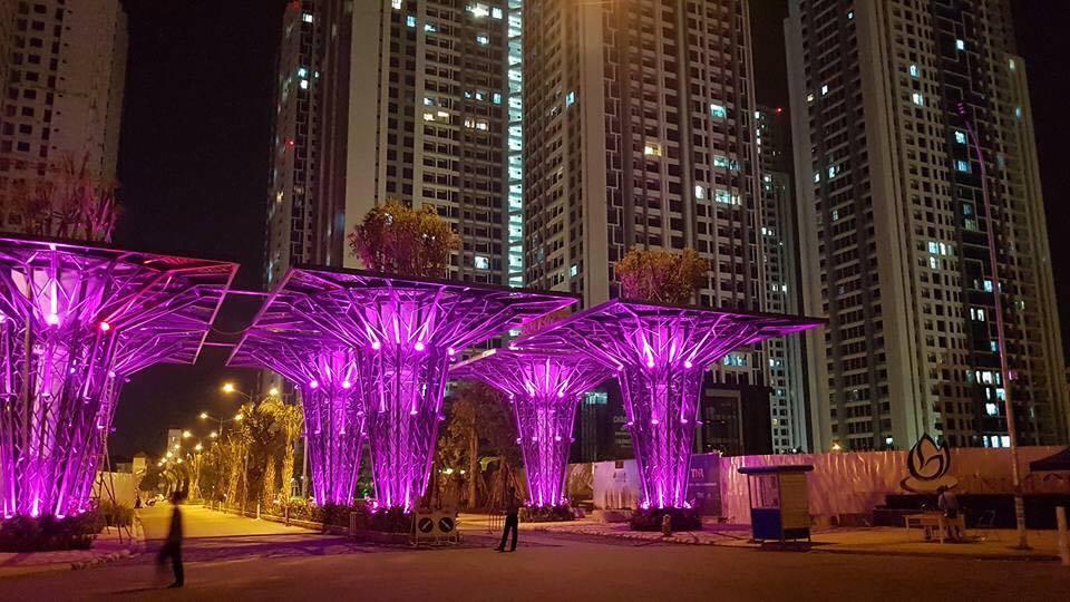 dự án TNR Goldmark City về đêm 1