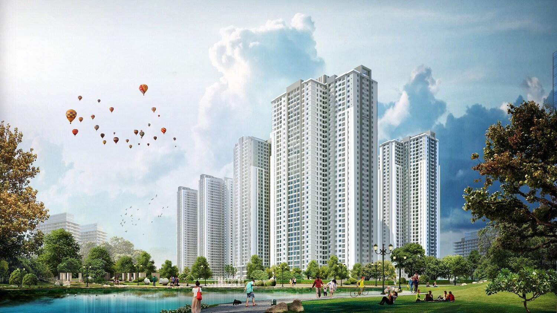 Phối cảnh Dự án Chung cư TNR Sky Park Goldmark City