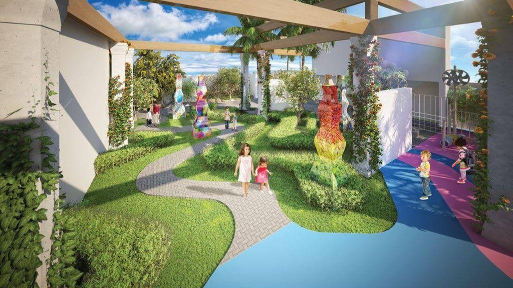 vườn hương dự án Chung cư TNR Goldmark City