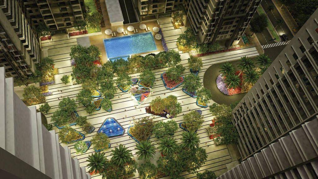 quảng trường ánh sáng dự án TNR Goldmark City
