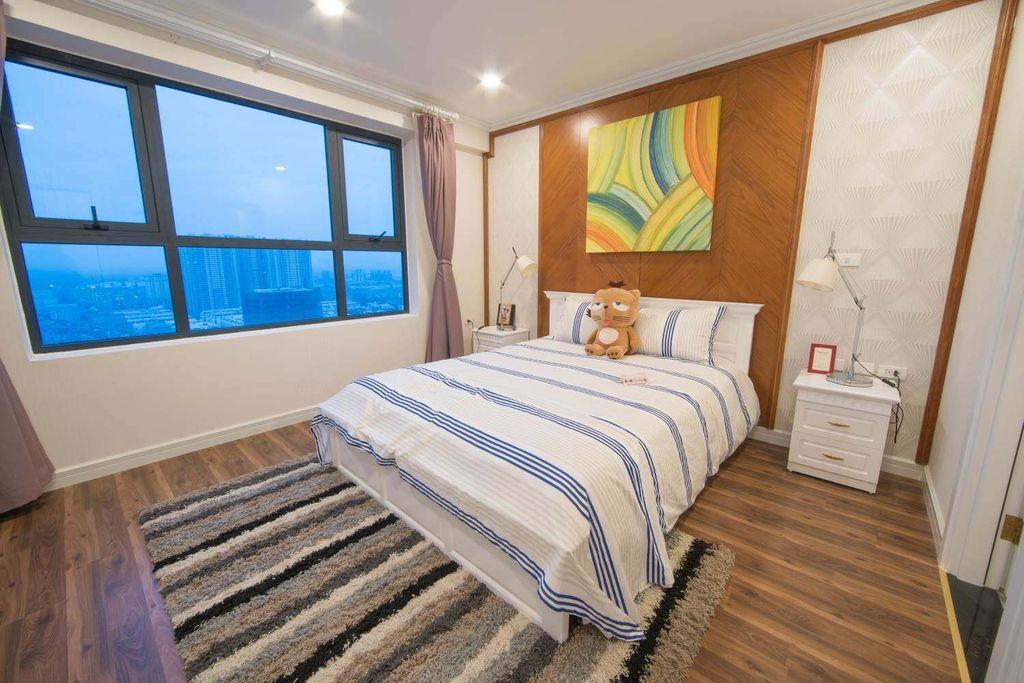 phòng ngủ dự án Chung cư TNR Goldmark City