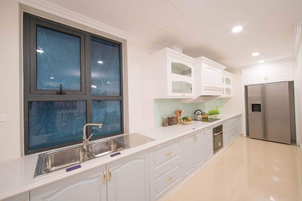 bếp rộng thoáng dự án Chung cư TNR Goldmark City