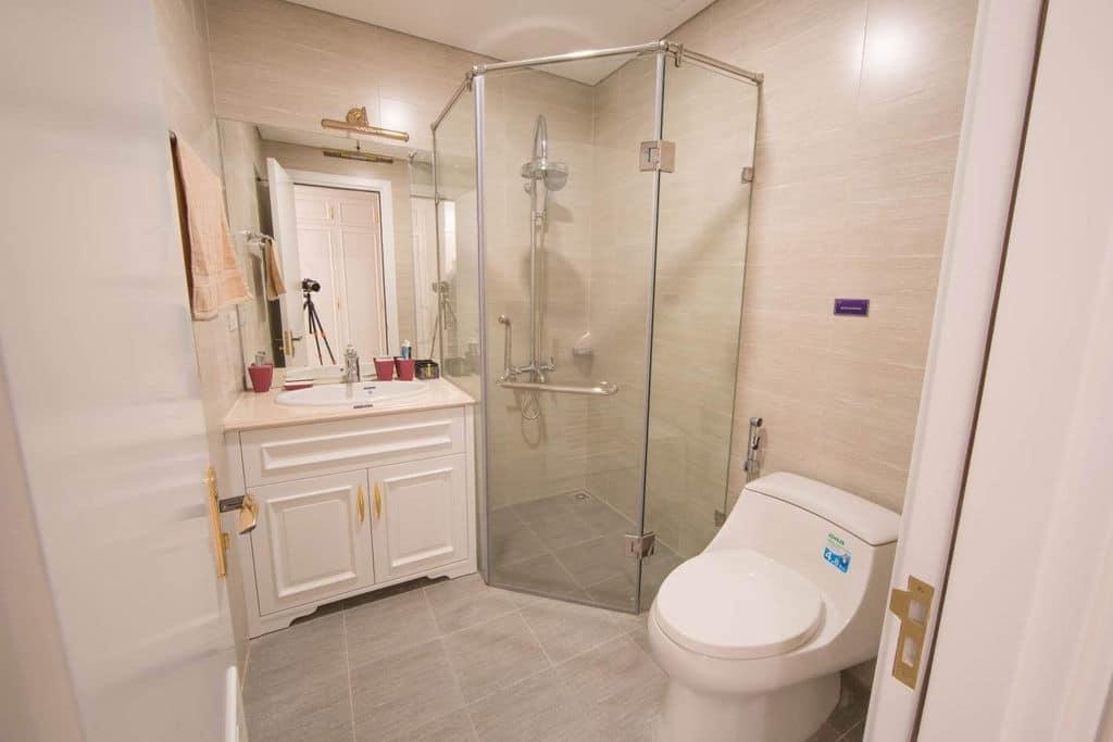 phòng tắm dự án Chung cư TNR Goldmark City