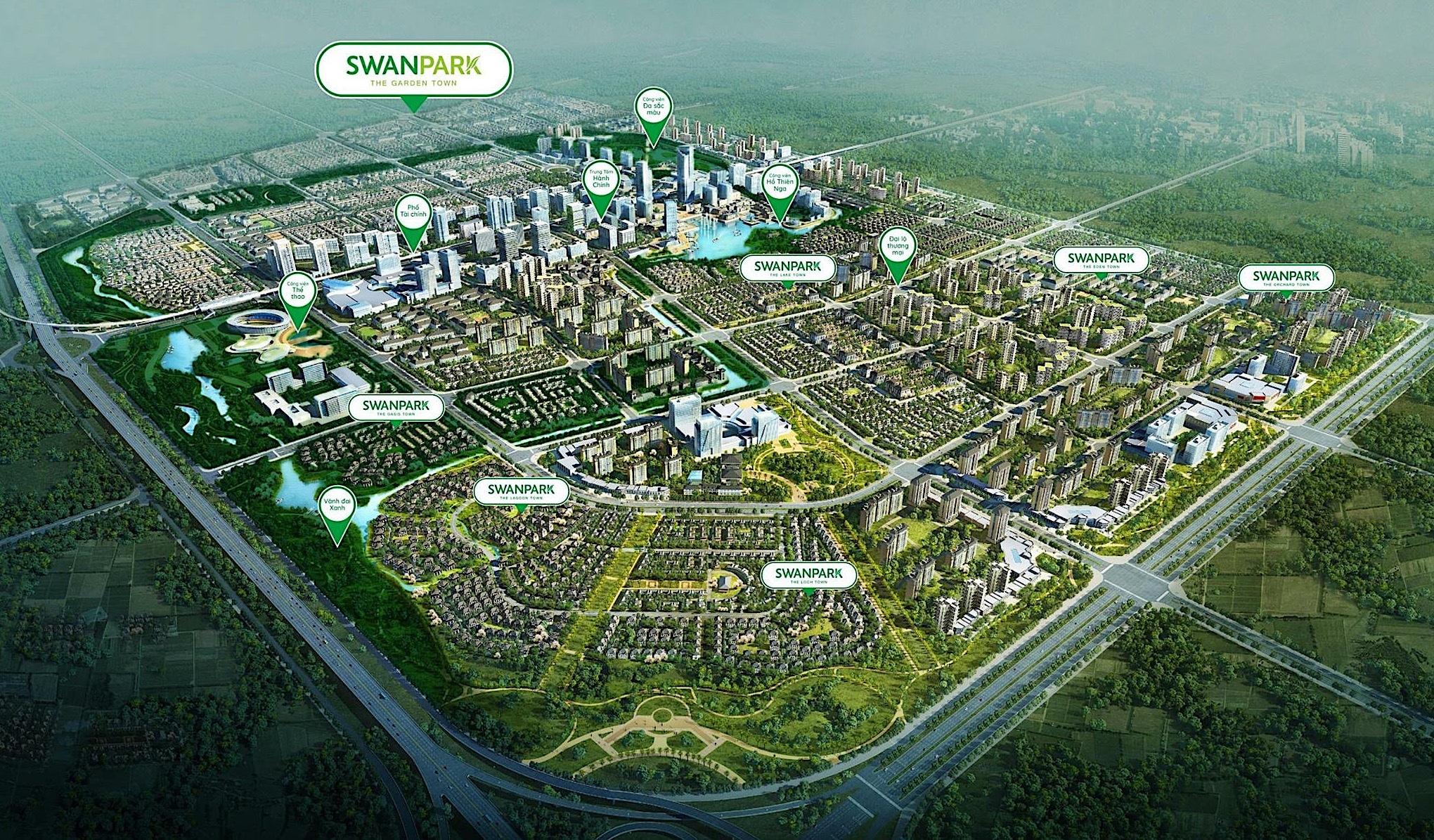 dự án swanpark tổng quan dự án