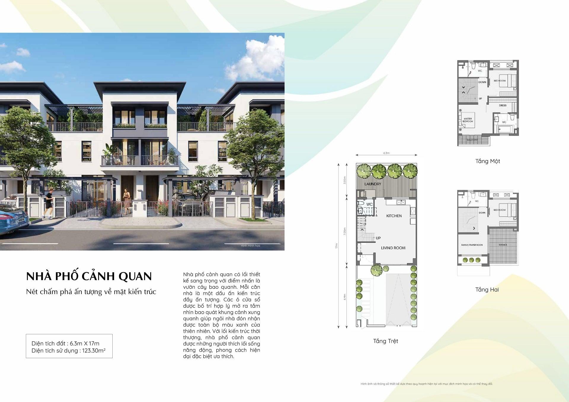 dự án swanpark nhà phố cảnh quan