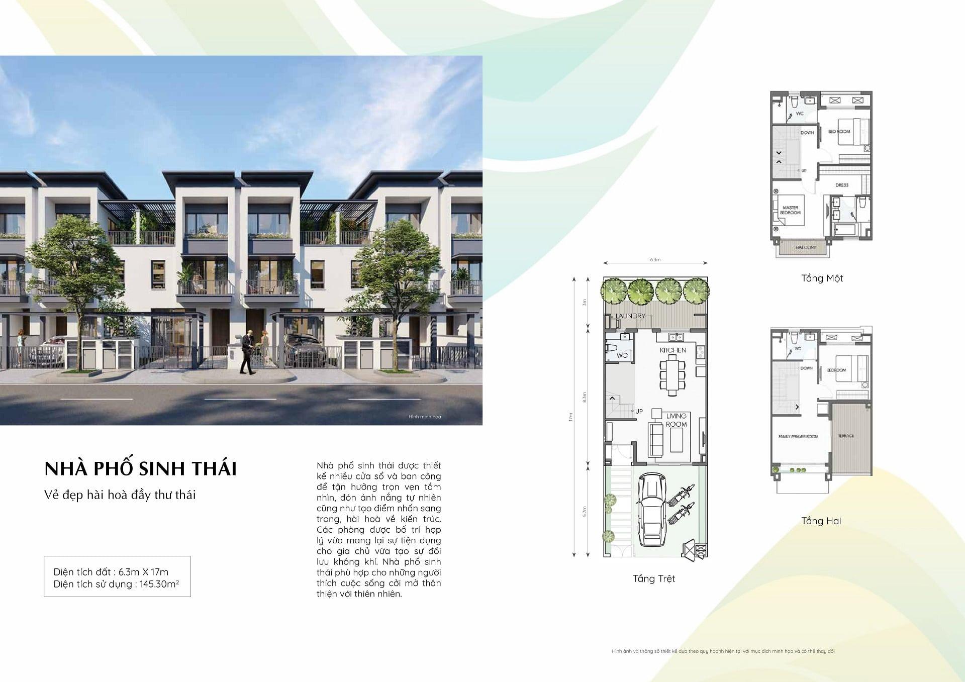 dự án swanpark nhà phố sinh thái