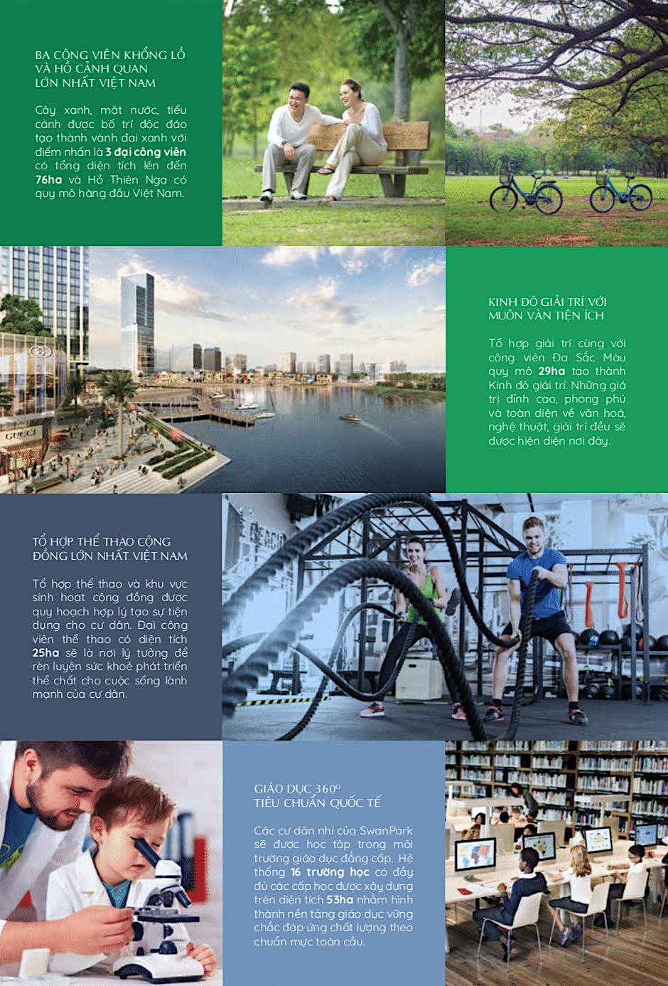 dự án swanpark đẳng cấp quốc tế