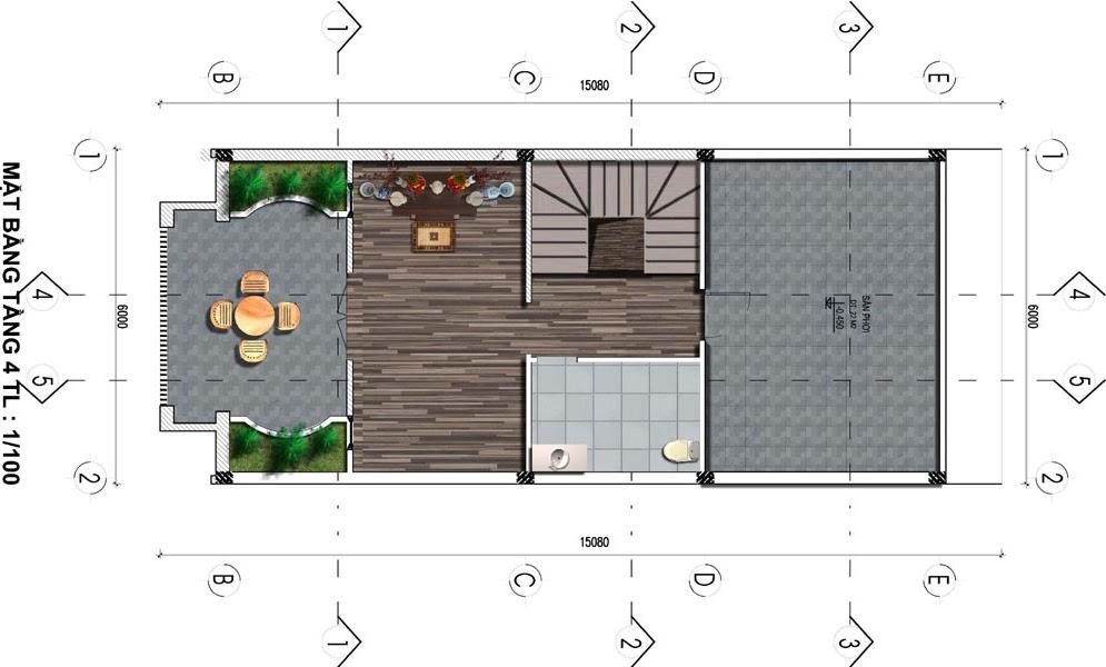 dự án fairy town liền kề tầng 4
