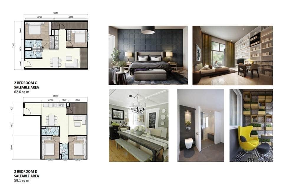 chung cư areca garden căn 2 phòng ngủ