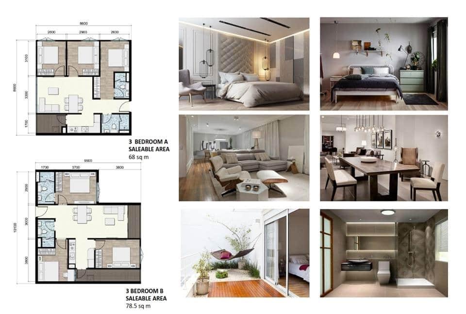 chung cư areca garden căn 3 phòng ngủ