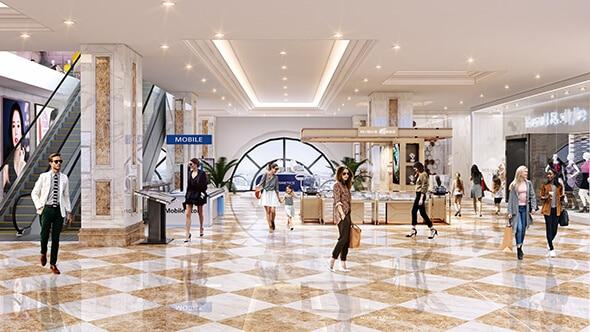 trung tâm thương mại sang trọng Chung cư Hateco La Roman