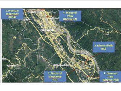 Đất nền Dự án Diamond Lào Cai – Chuỗi Kim Cương Tây Bắc