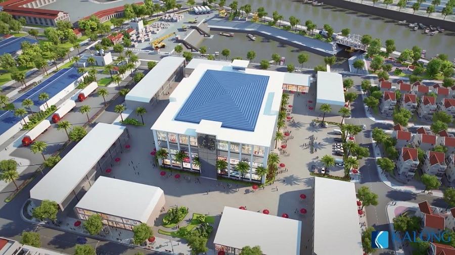 kalong riverside trung tâm thương mại